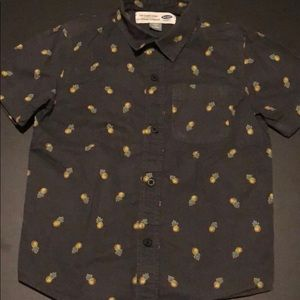 ☘️Like New! Old Navy Polo- Cute Pineapple Design